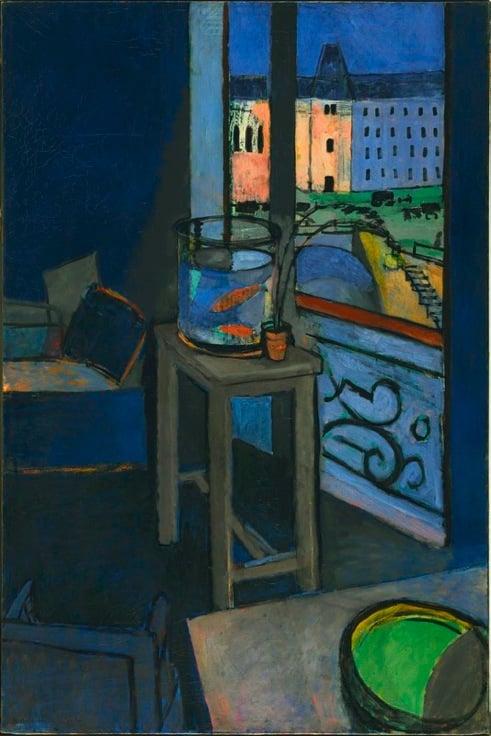 Henri Matisse, Interior with Goldfish, 1914, Centre Pompidou, Paris, France.