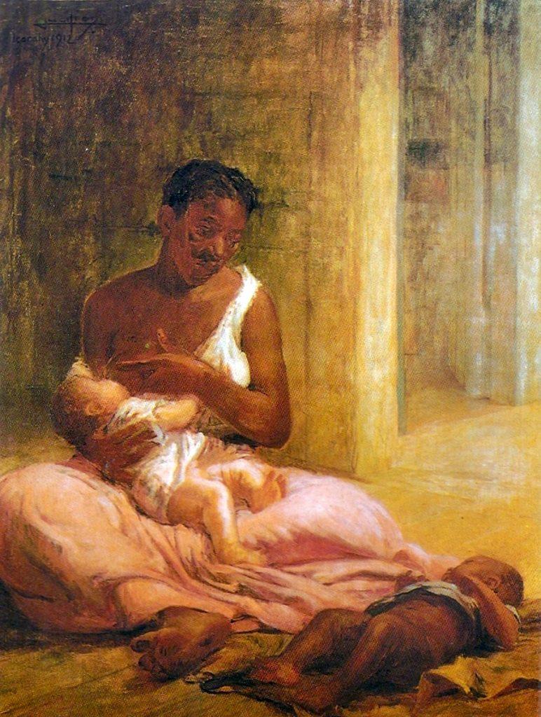 Parenting in art: Lucílio de Albuquerque, Mãe Preta, 1912, Bahia Museum of Art, Salvador, Brazil.