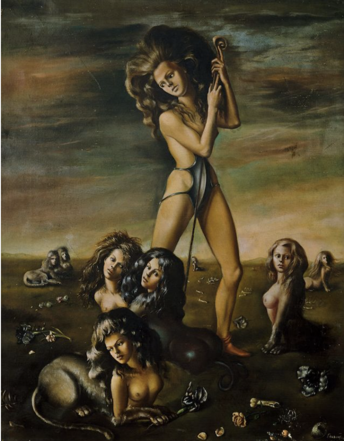 31 Women Peggy Guggenheim, Leonor Fini, The Shepherdess of the Sphinxes, 1941, Peggy Guggenheim Collection, Venice, Italy.