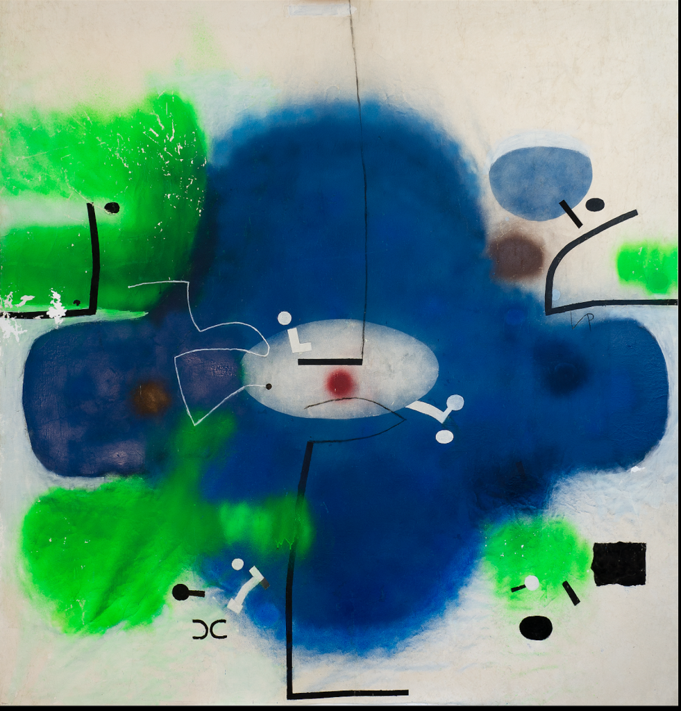 Victor Pasmore, Untitled Abstract, 1998, MUŻA - National Community Art Museum/Heritage Malta.