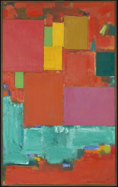 Abstract Expressionism 101. Hans Hofmann, Pompeii, 1956, oil on canvas. Tate Modern, London, UK.
