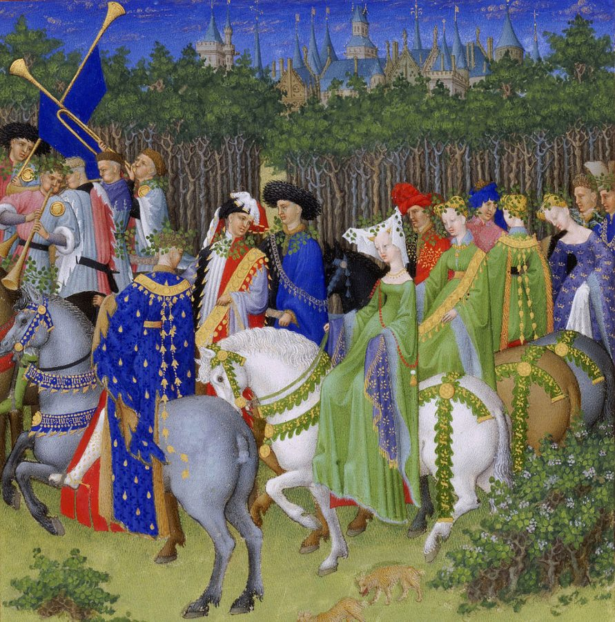 Très Riches Heures du Duc de Berry, May, 1412-1489, Musée Condé, Chantilly, France