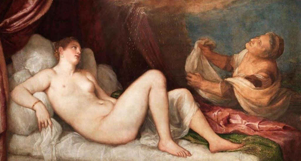 Titian Revisited: Titian, Danaë, 1551–1553, Wellington Collection, Apsley House, London, England, UK