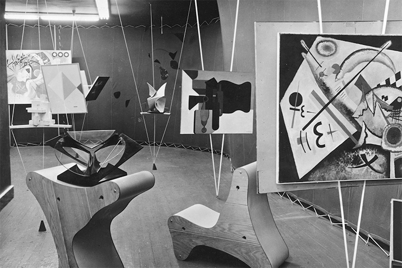 31 Women peggy guggenheim, The Abstract Gallery, Art of This Century Gallery, 1942, New York, NY, USA