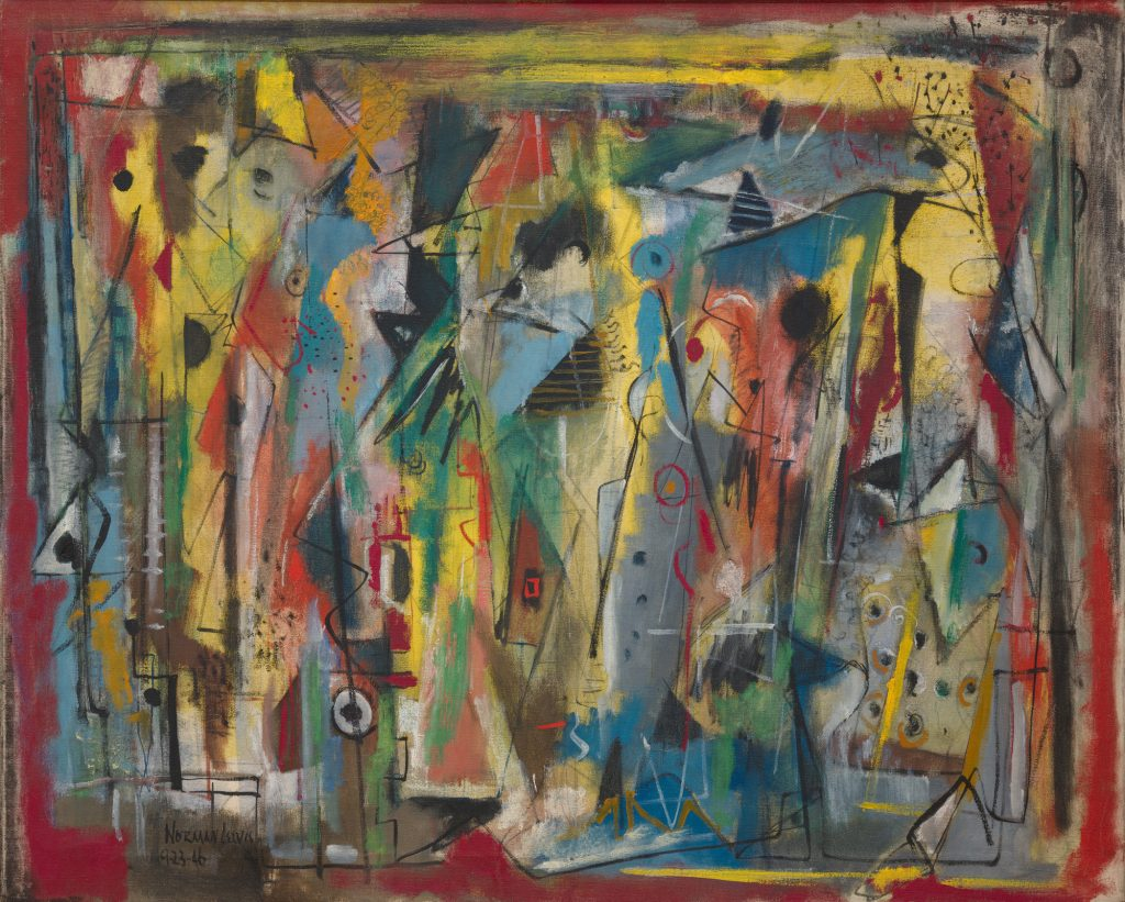 Abstract Expressionism 101. Norman Lewis, Phantasy II, 1946, oil on canvas. The Museum of Modern Art, New York, USA.