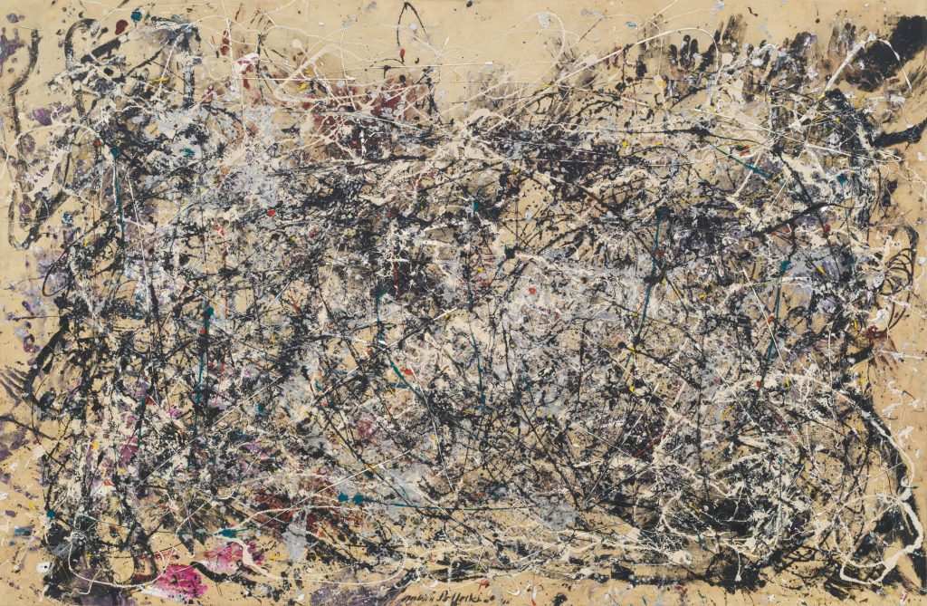 Abstract Expressionism 101.Jackson Pollock, Number 1A, 1948, oil and enamel paint on canvas. The Museum of Modern Art, New York, USA.