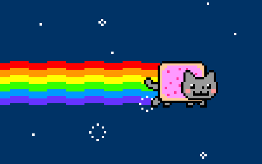 NFT Art: Chris Torres, Nyan Cat, 2011