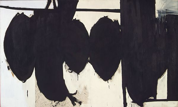 Abstract Expressionism 101. Robert Motherwell, Elegy to the Spanish Republic No. 70, 1961, The Metropolitan Museum of Art, New York, USA.