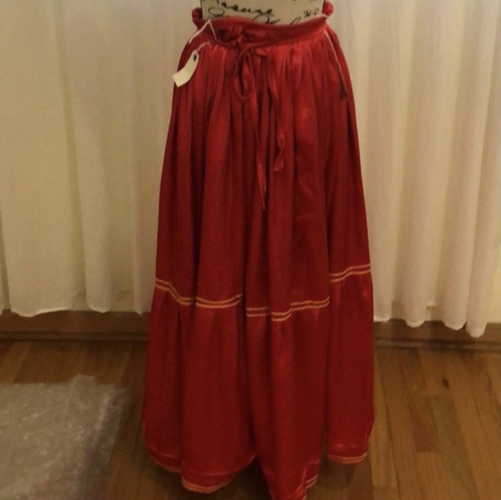 Frida Kahlo's Red Skirt,Frida Kahlo's style.