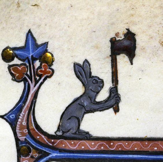 Ms. 121, fol. 23r, 14th century, Bibliothèque de la Sorbonne, Paris,