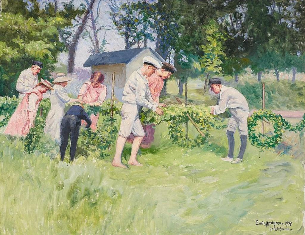 Emil Lindgren, Midsummer, 1937, location unknown.