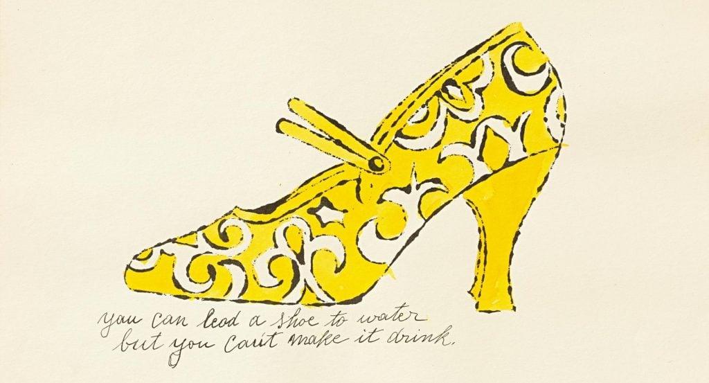 Andy Warhol, A La Recherche du Shoe Perdu