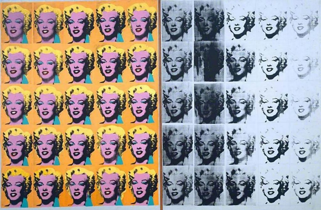 Andy Warhol, Marilyn Diptych