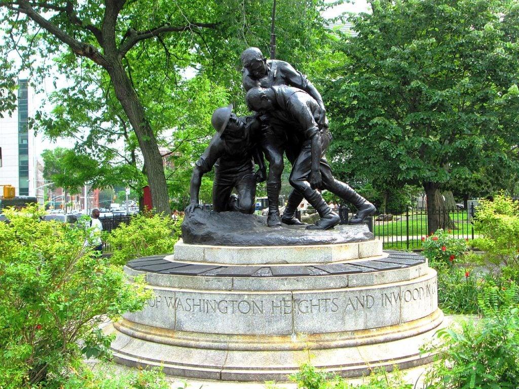 Gertrude Vanderbilt Whitney, Washington Heigts War Memorial, 1922. Great Women Sculptors
