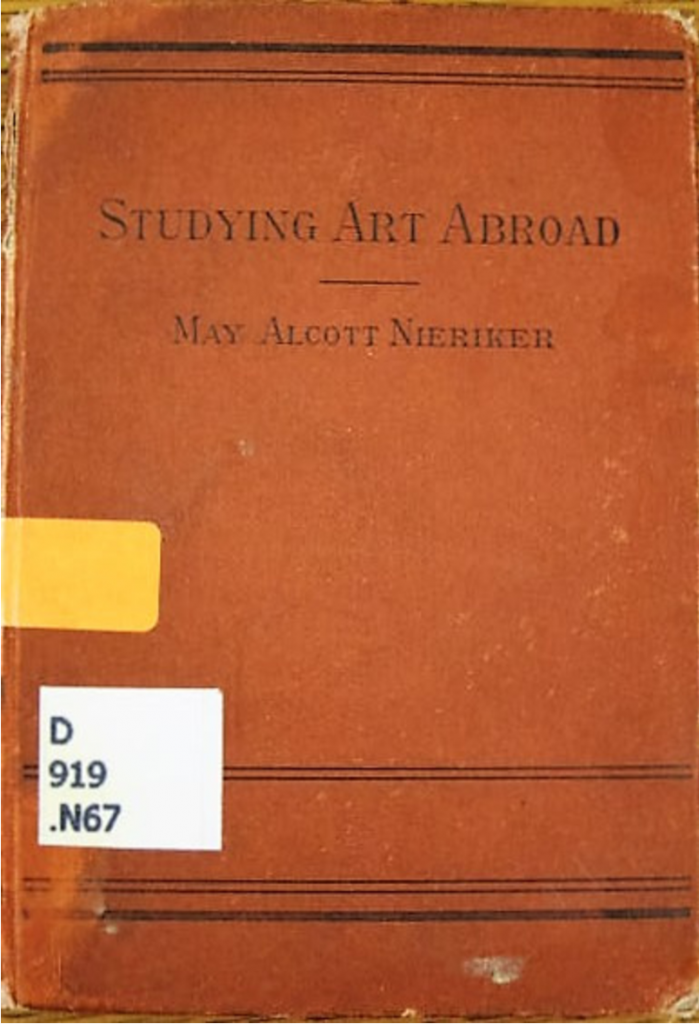 Cover of Studying Art Abroad, 1st edition from 1879