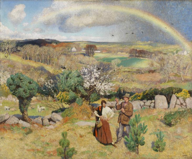 Dame Laura Knight, Spring, 1916-1920, Tate, London, UK.