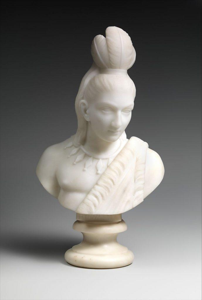 Edmonia Lewis, Hiawatha, 1868, The Metropolitan Museum of Art, New York, USA.