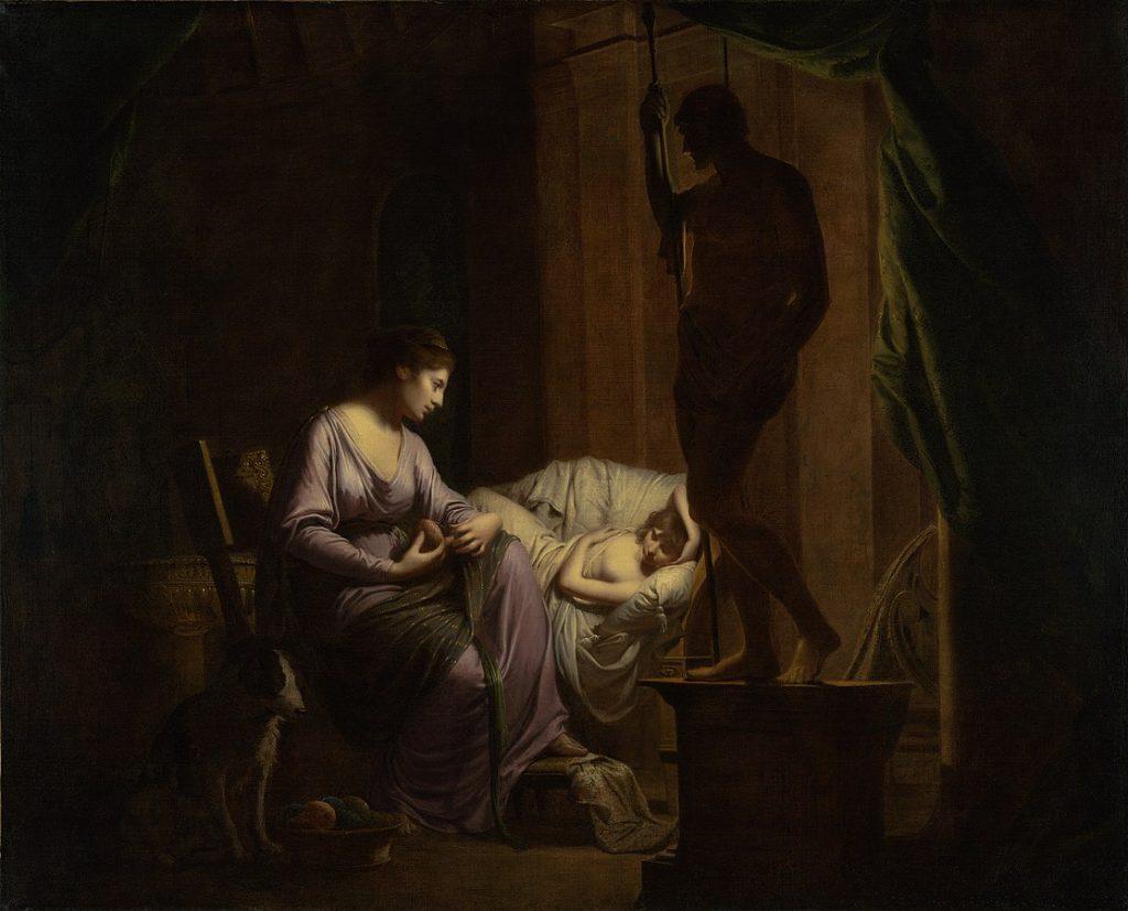 Joseph Wright of Derby, Penelope, 1785, J. Paul Getty Museum.