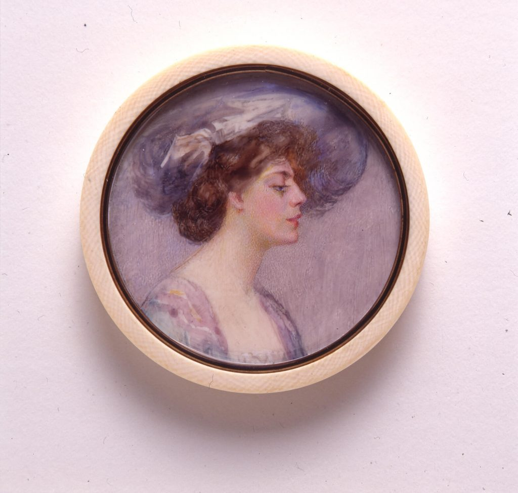 American female artists: Eulabee Dix, Ethel Barrymore, ca. 1905, National Museum of Women in the Arts, Washington, DC, USA.