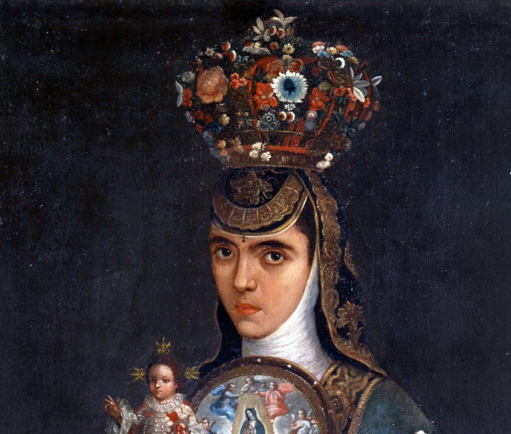 Crowned Nun Portraits: Arrillaga, c. 1777, Museo Nacional del Virreinato, Tepotzotlán, Mexico.