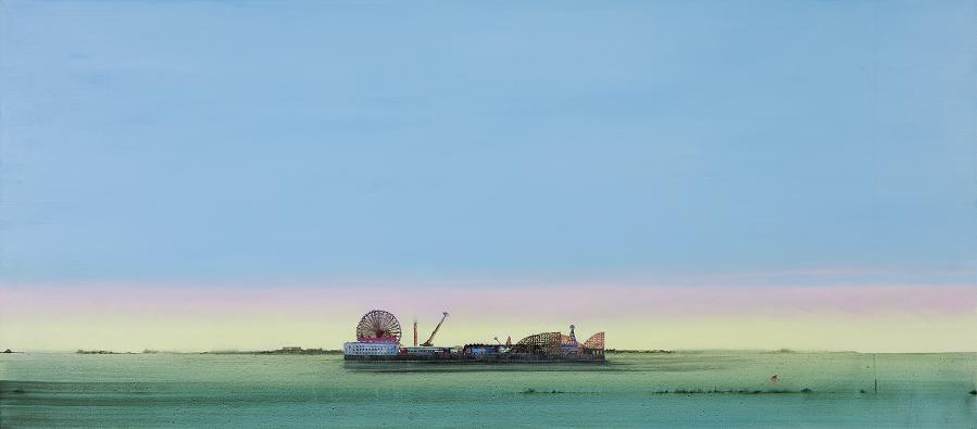 Jock McFadyen, Lost Boat Party, 2020,