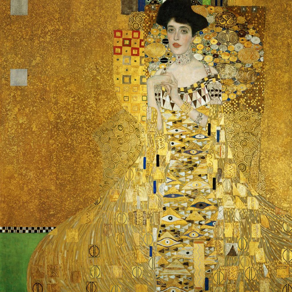 Gustav Klimt, Portrait of Adele Bloch-Bauer I, 1903-1907, Neue Galerie, New York, NY, USA.