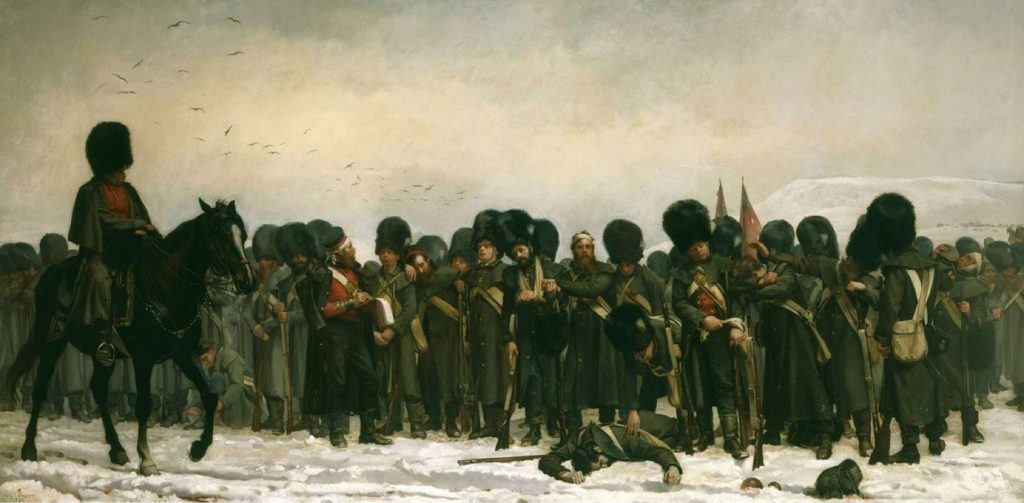 Elizabeth Thompson, The Roll Call, 1874, Royal Collection Trust, London, UK.