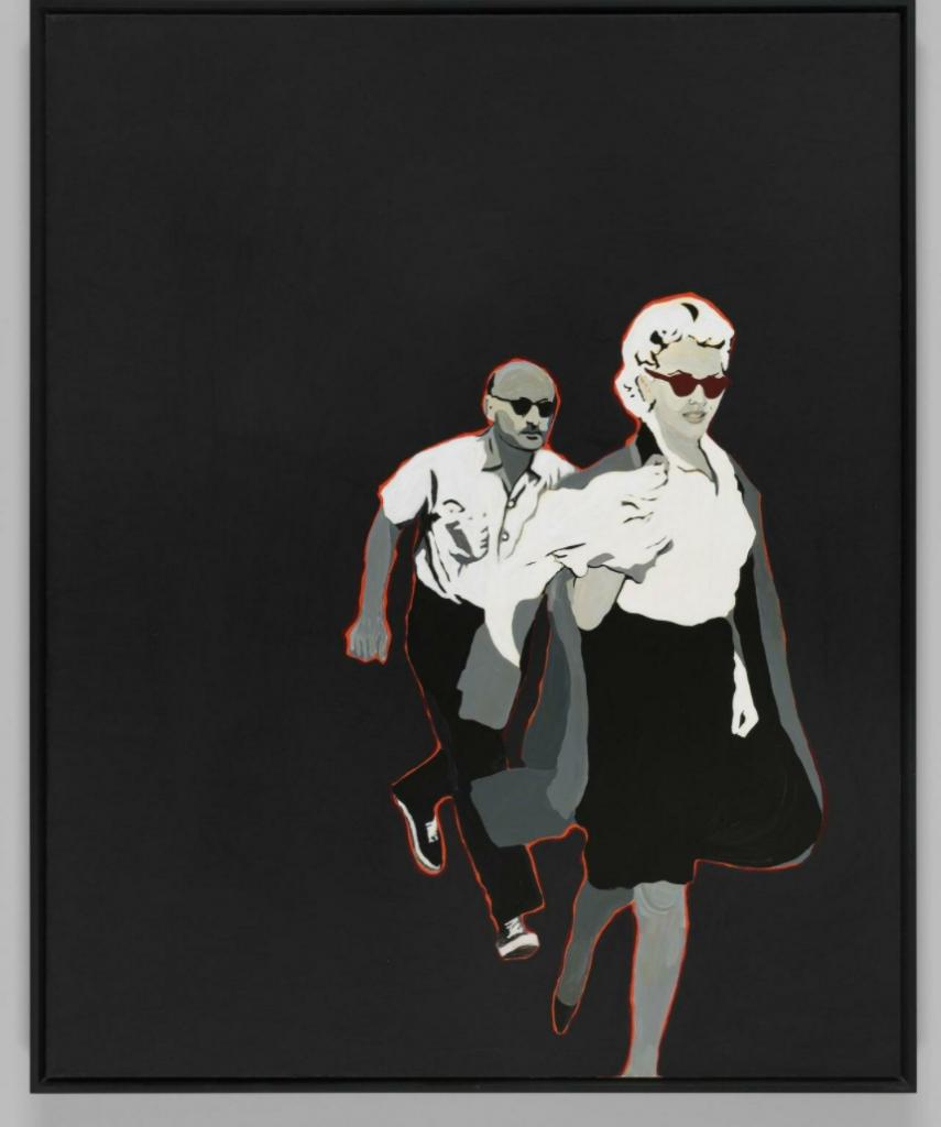 Rosalyn Drexler, Marilyn Pursued by Death, 1963, Garth Greenan Gallery, New York, NY, USA.