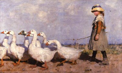 James Guthrie, To Pastures New, 1883, Aberdeen Art Gallery & Museums