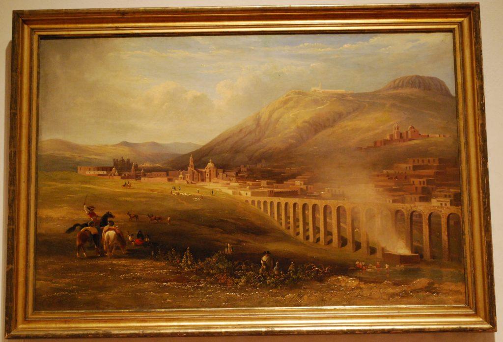 traveling artists mexico. Daniel Thomas Egerton, Aqueduct of Zacatecas, 1838, Franz Mayer Museum, Mexico City, Mexico.