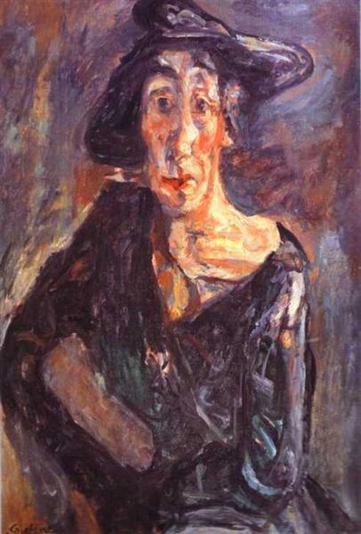 art break-up: Chaim Soutine, Desolation, 1924, Musée Calvet, Avignon, France.