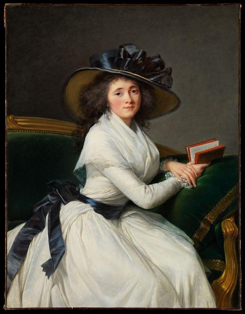 Why have there been no great women artists? Élisabeth Louise Vigée Le Brun, Comtesse de la Châtre, 1789, oil on canvas, The Metropolitan Museum of Art, New York, USA.