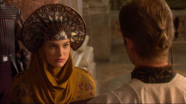 Russian headdress. George Lucas, Star Wars: Episode II - Attack of the Clones, Still from the movie, 2002.