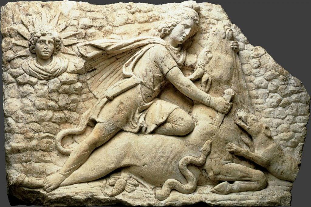 Mithras Slaying the Bull, 150-200 CE, Cincinnati Art Museum, Cincinnati, OH, USA.