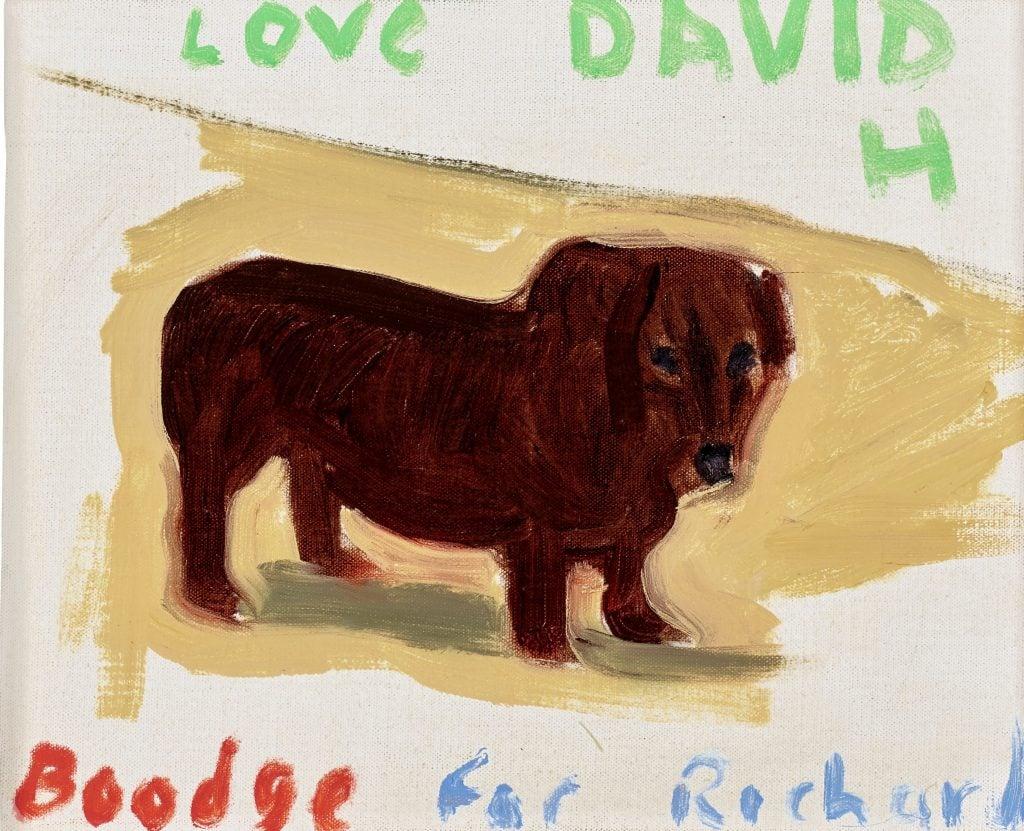 David Hockney, Boodge, ca. 1995, Christie's, New York, NY, USA.
