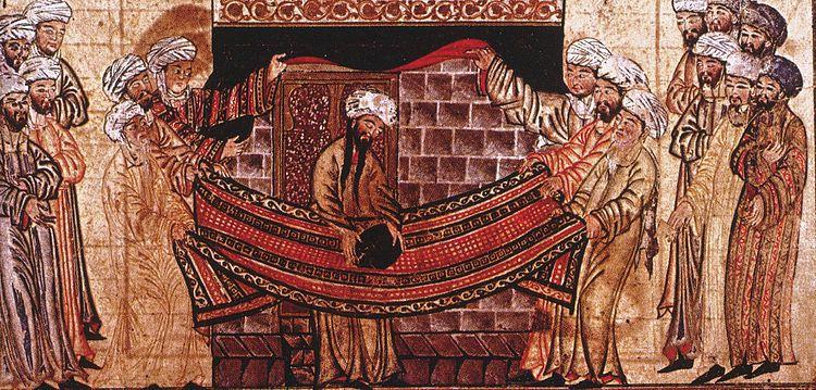Islamic art: Rashid Al-Din, Jami al-Tawarikh, 1315, Edinburgh University Library, Edinburgh, Scotland.
