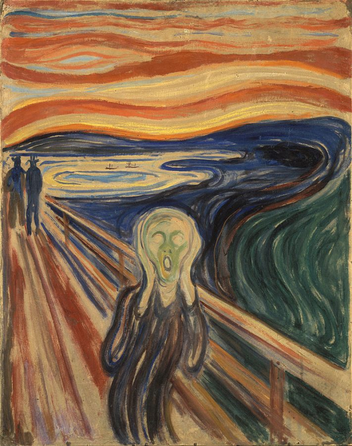 Best DailyArt Magazine Articles: Edvard Munch, The Scream, 1910, Munch Museum, Oslo, Norway.