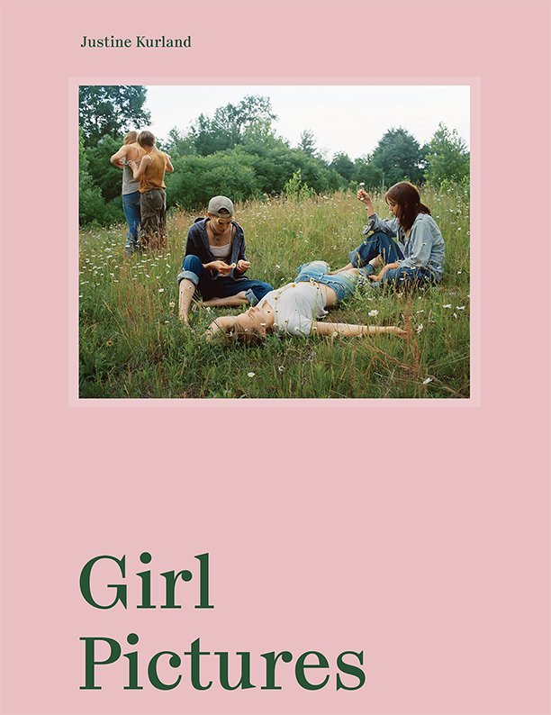 Girl Pictures by Justine Kurland looks at photographs of teenage girls in America. Book cover of Girl Pictures by Justine Kurland, Aperture, 2020.