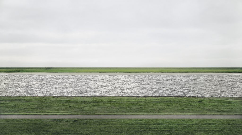 Andreas Gursky, Rhine II, 1999, private collection