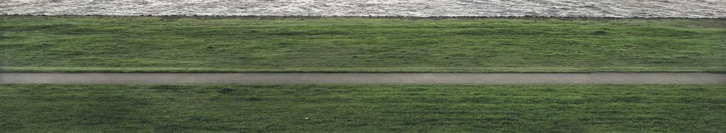 Andreas Gursky, Rhine II, detail 2, 1999, private collection