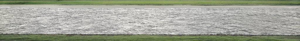 Andreas Gursky, Rhine II, detail of the river, 1999, private collection