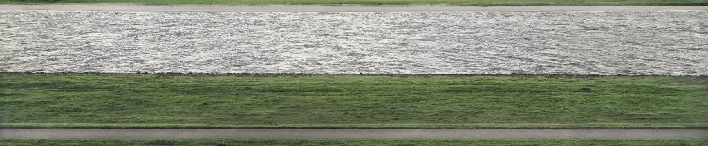 Andreas Gursky, Rhine II, detail, 1999, private collection