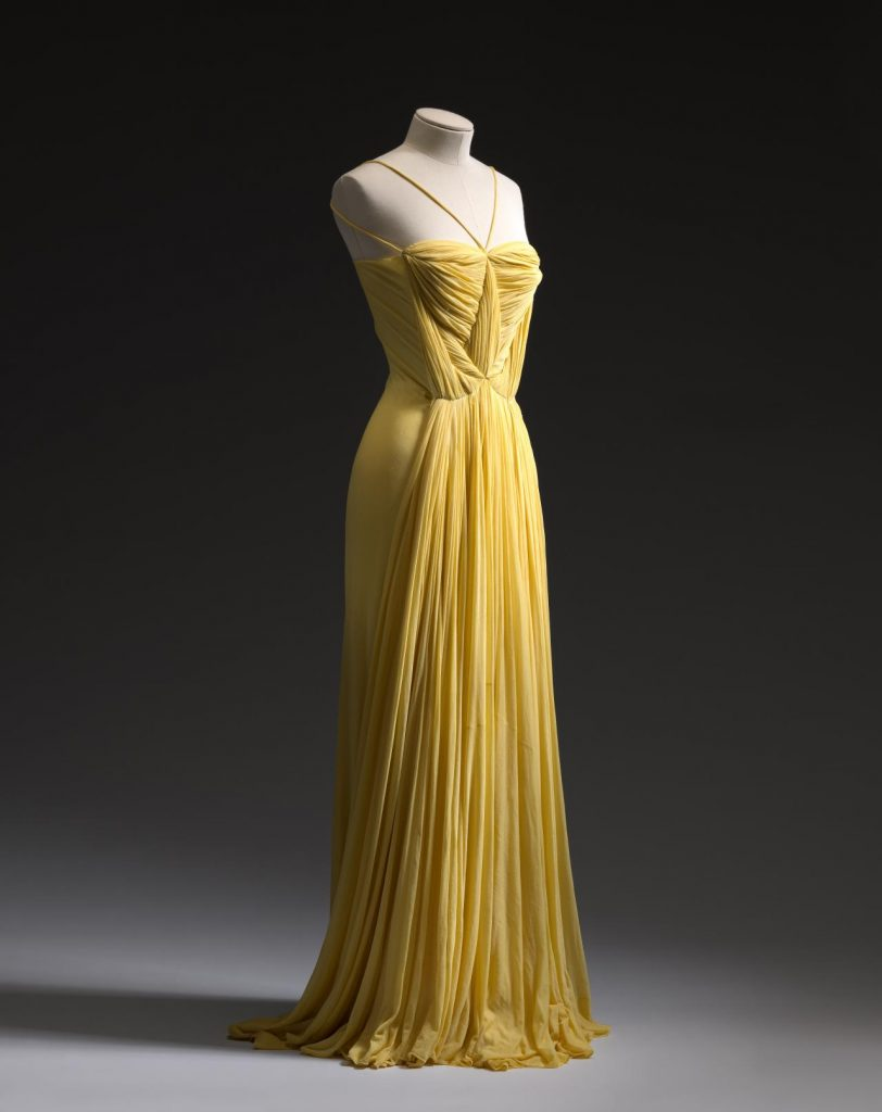 Madame Grès, Evening dress, SS 1939. The National Gallery of Victoria, Melbourne, Australia.