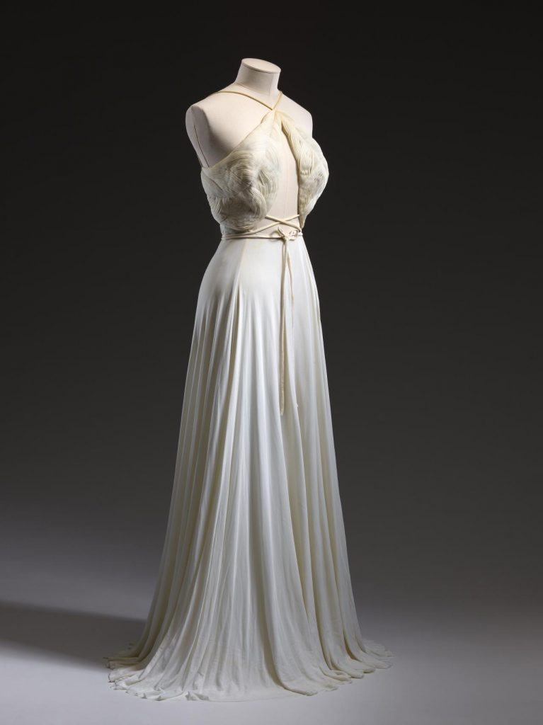 Madame Grès, Evening dress, FW 1976-7. The National Gallery of Victoria, Melbourne, Australia.