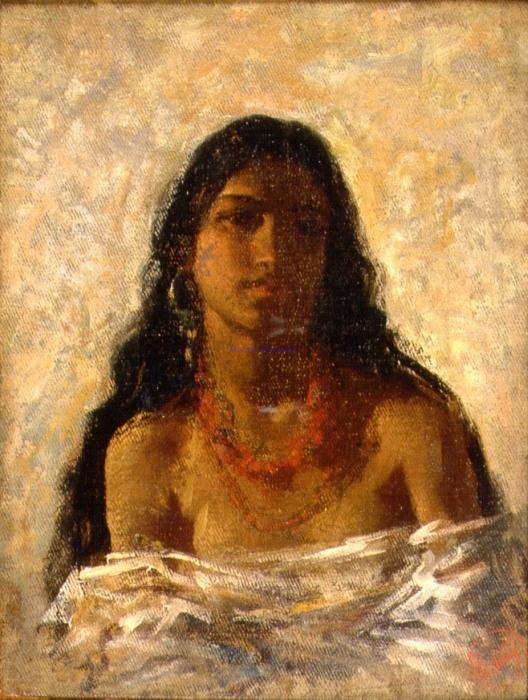 Maria Fortuny Marsal, Gitana, c. 1870, Museo Fortuny, Venice, Italy.