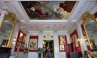 Inside the KattenKabinet in Amsterdam, the Netherlands.