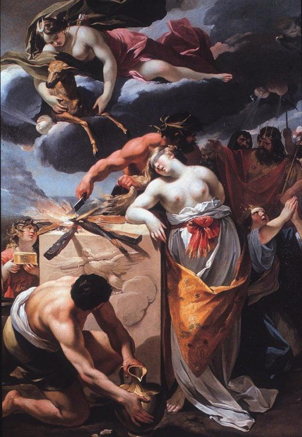 Oresteia: François Perrier, The Sacrifice of Iphigenia, 1633, Musée des Beaux-Arts de Dijon, Dijon, France.