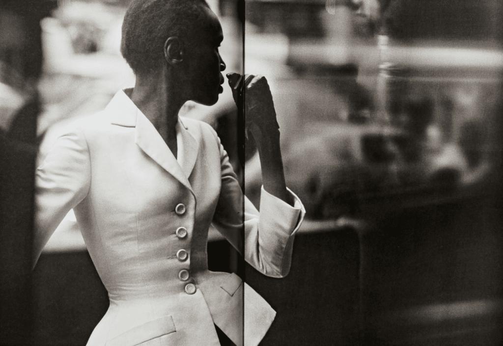 Peter Lindbergh, Alek Wek, wearing a Dior