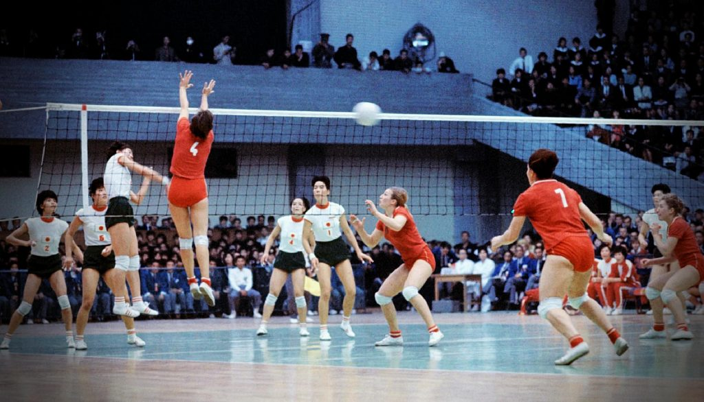 The Oriental Witches fight against the Soviet Union at the Olympic Games, 1964, Olympics