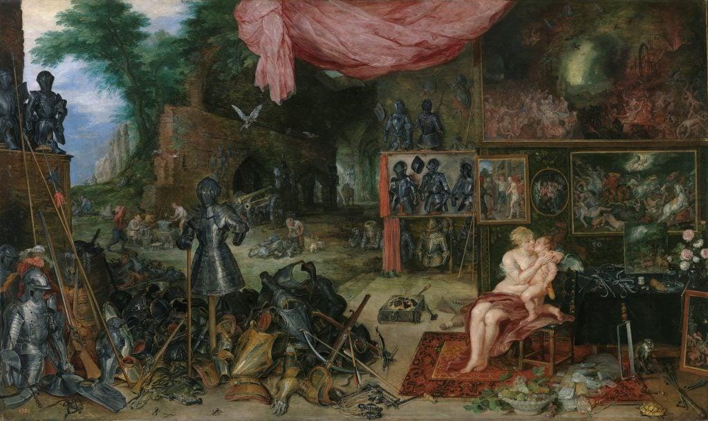 Peter Paul Rubens, Jan Brueghel the Elder, The Sense of Taste, 1618, The Prado Museum, Madrid, Spain